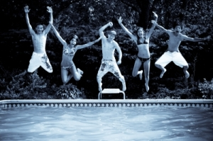 How will you kick off your school year? We're splashing our way into a fun 2011/2012 with a Back to School Pool Party!